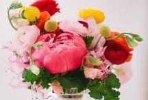 bloemen en vaasjes