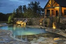 Outdoor Patio, Pool, and Landscaping / by Krista Sitek