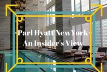 Park Hyatt New York ~ Where Luxury is personal / Come visit the Park Hyatt New York with us! Where Luxury is Personal