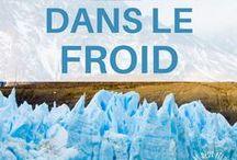 Voyages dans le froid / Je regroupe ici tous les conseils de voyages, guides, récits de voyages dans les paysages froids : Islande, Antarctique, Canada... Je partage aussi tous les plus beaux paysages froids ! Paysage hiver - Paysage froid - Paysage montagne