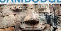 Voyage au Cambodge / Tableau dédié à la découverte du Cambodge en Asie du Sud-Est : temples d'Angkor, Phnom Penh, Siem Reap, Battambang, Kompong Chhnang, etc. #cambodge   Cambodge Voyage   Cambodge Paysage   Cambodge plage   Cambodge itineraire