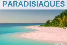Plages paradisiaques / Une invitation au voyage et à la découverte autour des plus beaux endroits du monde. Les plus belles plages du monde #voyage #plage Paysage magnifique et fantastique à découvrir pour les amoureux de la plage / plages de reve