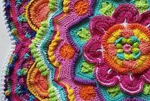 Crochet  |  Squares, blocks and motifs / Crochet granny squares, hexies, afghan blocks and more