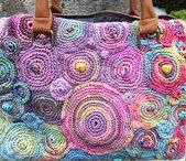 Crochet  |  Bags / Patterns, ideas and tips for crochet bags