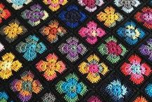 Crochet  |  Blankets and afghans / Inspiration and patterns for crochet blankets, afghans and throws.