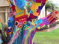Yarnbombing! / Yarn bombing, yarn storming, guerrilla knitting - whatever you call it, we love it!