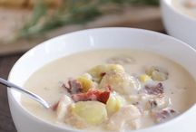 Soups / Easy soup recipes to warm you up on cold winter days.