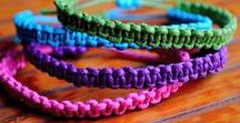 Fantastic Friendship bracelets! / Amazing bracelets using embroidery silk and other materials.