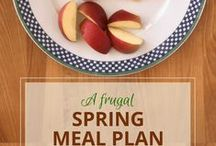 Meal planning / Weekly meal plans and frugal meal ideas to take the work out of serving healthy meals each week.