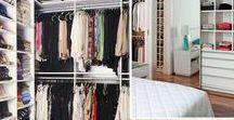 Closet / Ideias diferentes e inspirações para um closet planejado ou diy.