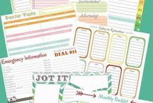 Printables Galore / The best printables, binders, and planners all in one spot