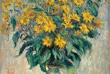Quadros famosos com flores