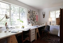 home office / by Angela DC
