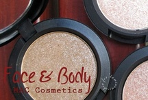 MAC Face & Body Fall Collection 2012 / #beauty #makeup #mac #faceandbody #collection2012 #pressedpigment #warmingheart #lighttouch #daygleam #glitters #shimmers #swatch #haul / by Helen Nguyen