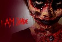 I AM Zombie Scary Makeup Look Halloween / by Helen Nguyen