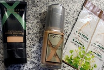 Haul MaxFactor Second Skin Foundation, Xperience Weightless Foundation and Face Food Ginseng & Jasmine Sauna Masque / by Helen Nguyen