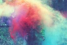 lucecitas de colores / by Angela DC