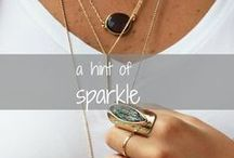 { a hint of sparkle }