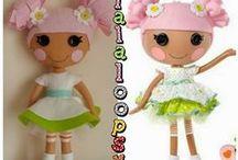 Lalaloopsy / Inspiracion para muñecas lalaloopsy