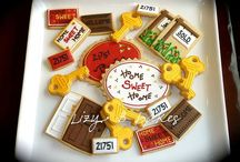 Housewarming Cookies / Decorated cookies for housewarming parties or gifts