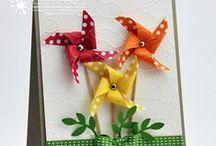 Pinwheels Cards Ideas
