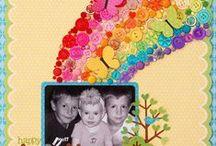 Rainbow Card Ideas