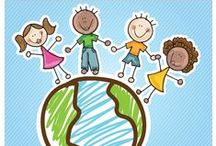 Kids: Diversity / Teaching Cultures and Diversity to kids :) / by Melaina Brink