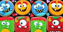 Monster Cookies / A collection of decorated monster cookies