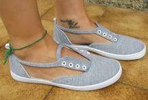 Pimp it up! / Hier zeigen wir dir Ideen, wie du deine Schuhe mit kleinen Accessoires verschönern und einen ganz neuen Look geben kannst.