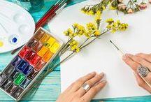 Kreative Hobby- und Bastelideen für dich! / Hier sammeln wir vielerlei Ideen zum Basteln und zum Selbermachen. Ob kreative Karten, Textilien, Schmuck,  Dekoration und vieles mehr! Mach mit und sei auch du kreativ.