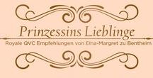 Prinzessins Lieblinge! / Elna-Margret Prinzessin zu Bentheim und Steinfurt, beliebter TV-Gast bei QVC, hat ihre Lieblingsprodukte geadelt. Auf dem Trend-Thron sind ausgewählte Hoheiten von DIAMONIQUE®, ISAAC MIZRAHI, EMU und vielen anderen Marken gelandet. Dürfen wir dir die royalen Empfehlungen vorstellen? Damit fühlst du dich jeden Tag wie eine Prinzessin ...