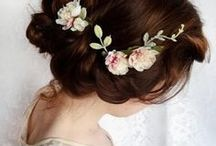 Wedding Hairstyles and Accessories / wedding hairstyles - bridal hairstyle - bridesmaid hairstyles - wedding hairstyles for short hair - hairstyles for long hair - wedding hair accessories