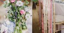 Rustic Wedding Decoration Ideas / wedding decorations - wedding decor - wedding aisle decorations - pew decorations