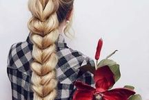 Hairstyles For Every Day / Ideas beautiful hairstyles that can be done in 3 minutes.