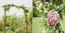 Botanical Wedding Ideas / ideas and inspiration for greenery inspired weddings