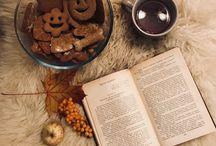 Идеи для уютных фото / Уют. Интерьер. Очень. Книги. Печень. Чай .