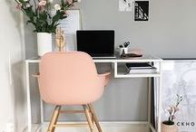 Study Décor / Your work environment has a huge impact on your day to day productivity so make it beautiful...