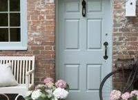 Knock Knock / Nothing greets you or your guests better than a beautifully styled front door/porch. Here are just some of the most perfectly designed entrances from around the world...