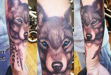 Start of my sleeve / Tattoo sleeve wolf @pinsandneedles Newcastle