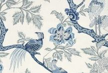 Fabrics and Wallpapers / by Melinda Hartwright Interiors by Mel H
