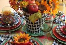 entertaining / Tablescapes as I see it / by Barbara Courtney