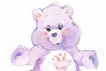 Classic Care Bears / Are you a child of the 80s? If so, you might recognize these lovable, huggable pop culture icons.