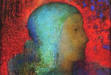 "Art of Odilon Redon (1840 –1916) French / Odilon Redon was a French symbolist painter, printmaker, draughtsman and pastellist. The young Bertrand-Jean Redon acquired the nickname ""Odilon"" from his mother, Odile. He briefly studied painting under Jean-Léon Gérôme in 1864."