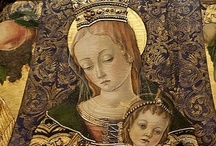 Art of Carlo Crivelli (Italian, Venetian, active 1457–93) / Carlo Crivelli was an Italian Renaissance painter of conservative Late Gothic decorative sensibility, who spent his early years in the Veneto, where he absorbed influences from the Vivarini, Squarcione and Mantegna. He left the Veneto by 1458 and spent most of the remainder of his career in the March of Ancona, where he developed a distinctive personal style that contrasts with that of his Venetian contemporary Giovanni Bellini.