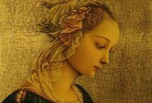 Art of Fra Filippo Lippi (1406-1469) Italian / Florentine painter in the second generation of Renaissance artists. While exhibiting the strong influence of Masaccio (e.g., in Madonna and Child, 1437) and Fra Angelico (e.g., in Coronation of the Virgin, c. 1445), his work achieved a distinctive clarity of expression. Legend and tradition surround his unconventional life.