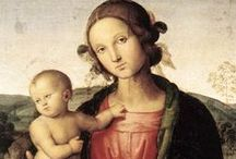 Art of Pietro Perugino (1446-1523) Italian / Pietro Perugino, born Pietro Vannucci, was an Italian Renaissance painter of the Umbrian school, who developed some of the qualities that found classic expression in the High Renaissance. Raphael was his most famous pupil.