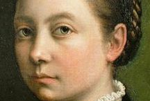 Art of Sofonisba Anguissola (1532-1625) Italian / Sofonisba Anguissola, also known as Sophonisba Angussola or Anguisciola, was an Italian Renaissance painter born in Cremona to a noble family, but a relatively poor one. She received a well-rounded education, that included the fine arts, and her apprenticeship with local painters set a precedent for women to be accepted as students of art.