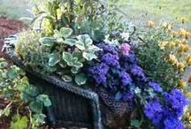 garden chairs and benches / make yours for your garden / by Barbara Courtney
