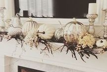 Fall Season / Inspiration for the Fall Season. Fall home decor. Fall decor. Fall decorating ideas. Fall holidays. Embrace the spirit of fall in every inch of your home.