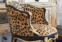 Great chairs & fabrics / by Barbara Courtney
